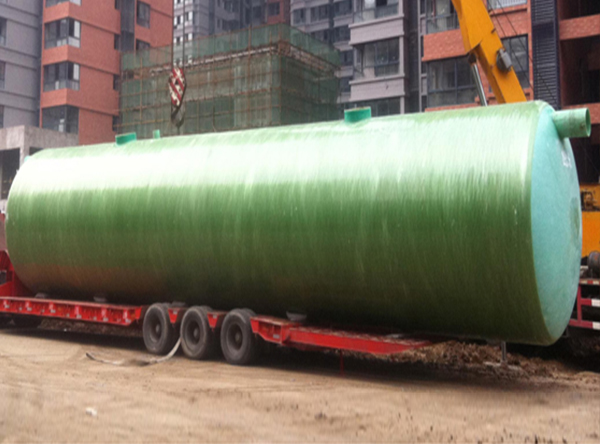 FRP biological septic tank