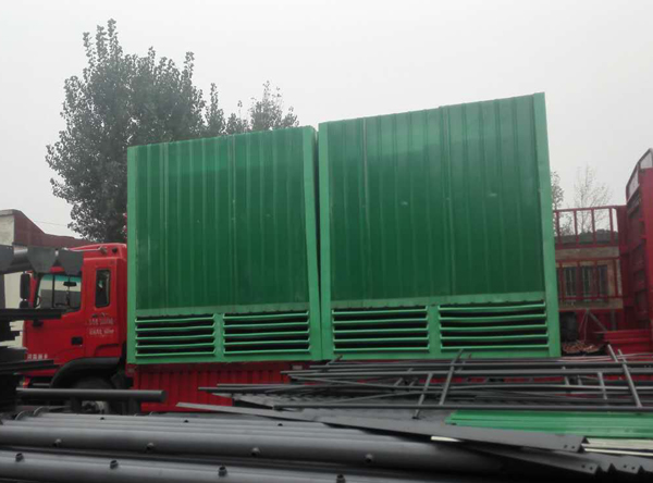 Shipment of a glass fiber reinforced plastic cooling tower from a foundry company in Yuanyang County, Xinxiang City