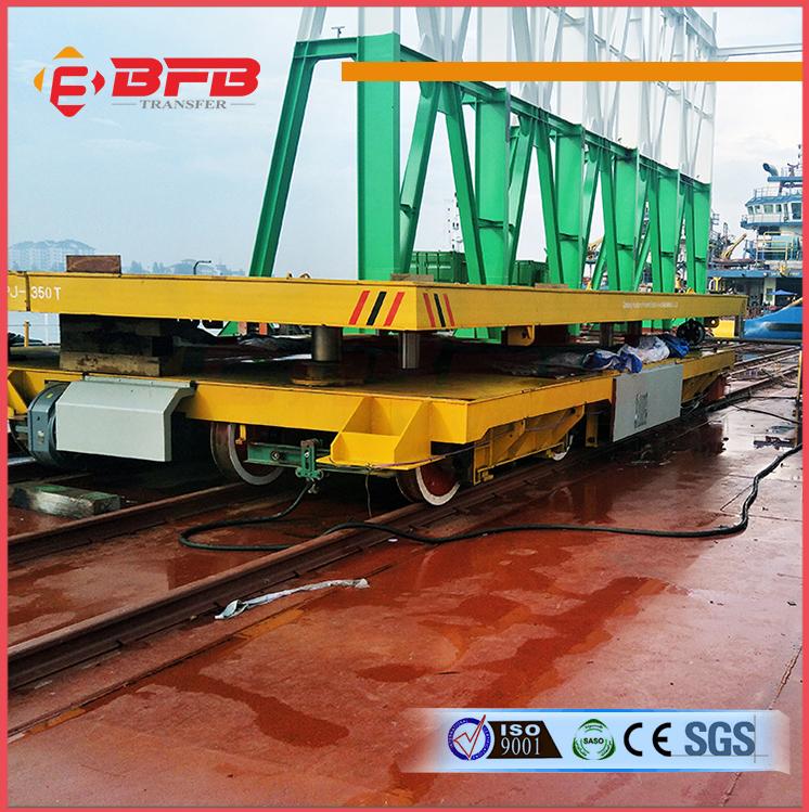 KPJ-350t电缆卷筒电动平车