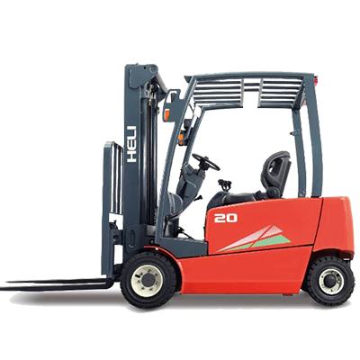 协力叉车-1.6-2T EFG系列前轮双驱四轮蓄电池均衡重式叉车