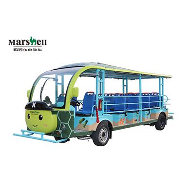 玛西尔电动叉车-电动参观车乌龟款23座(DN-23D)