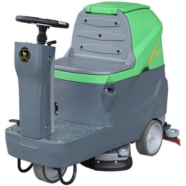 微型驾驶式主动洗地机