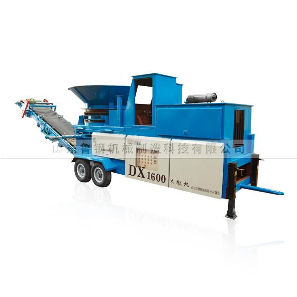Dx1600 mobile wooden pier machine