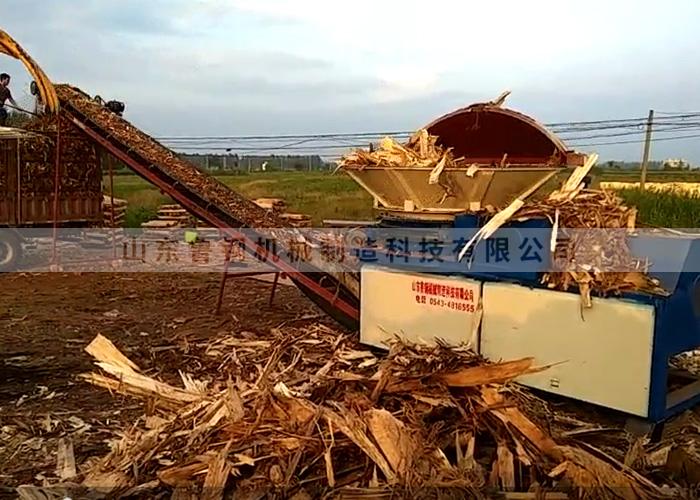 Dx1600 wooden pier machine, Shandong Gaoqing