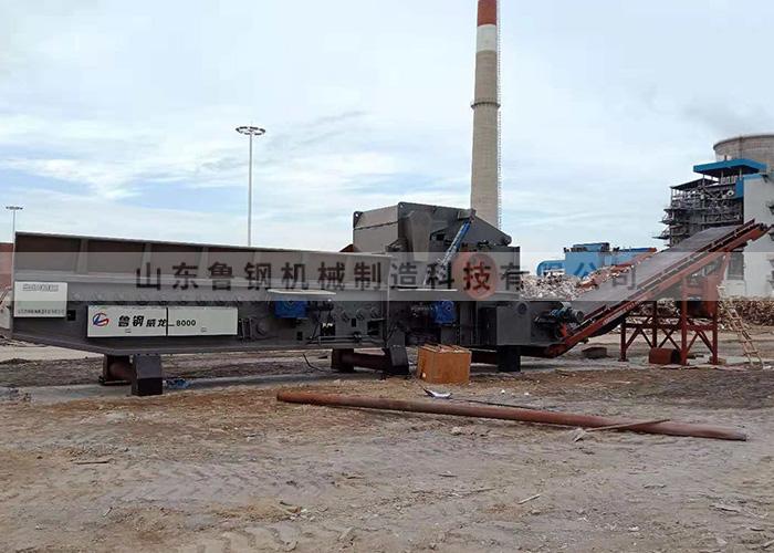 Shandong steel Weilong 8000, Hebei Shijiazhuang Xingtang power plant