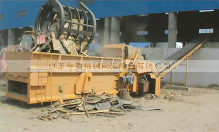 Production scenario of energy saving Qixia biological power plant in zp1400-7000b comprehensive crusher