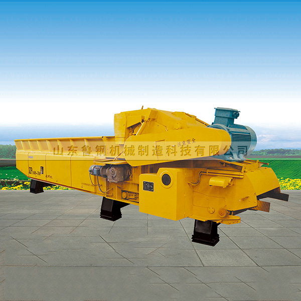How does the wood crusher turn wood waste into treasure?