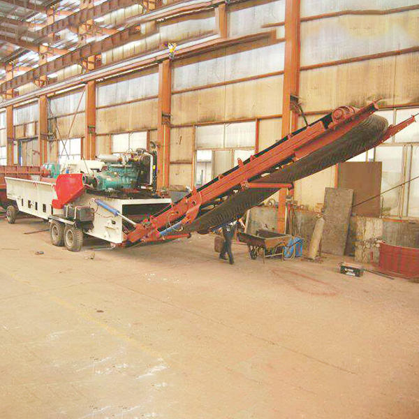 Weilong 3000 mobile comprehensive crusher