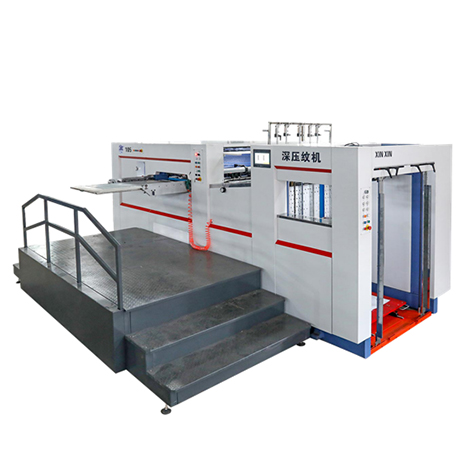 YW-105E Fully Automatic Flat Pressing Deep Embossing Machine