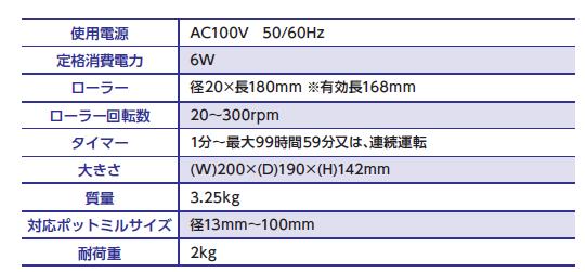 球磨机ANZ-10D规格