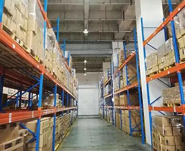 上海华迅物流仓库LED改造