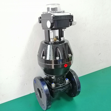 EG6B41J normally closed pneumatic rubber lined diaphragm valve technical parameters