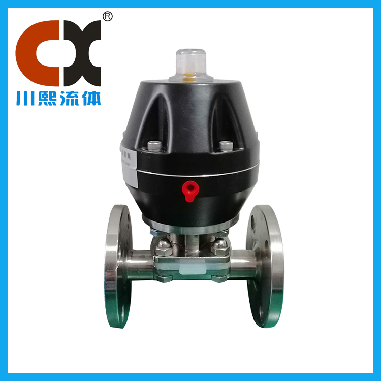 Chuanxi fluid takes you to understand the characteristics of sanitary diaphragm valve equipment!