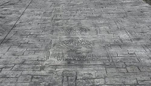 坤远—压印沥青地坪