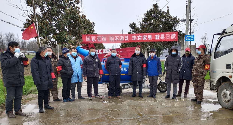抗疫志愿者--贝蜜儿湖北省区经理章雨在湖北襄阳小樊村