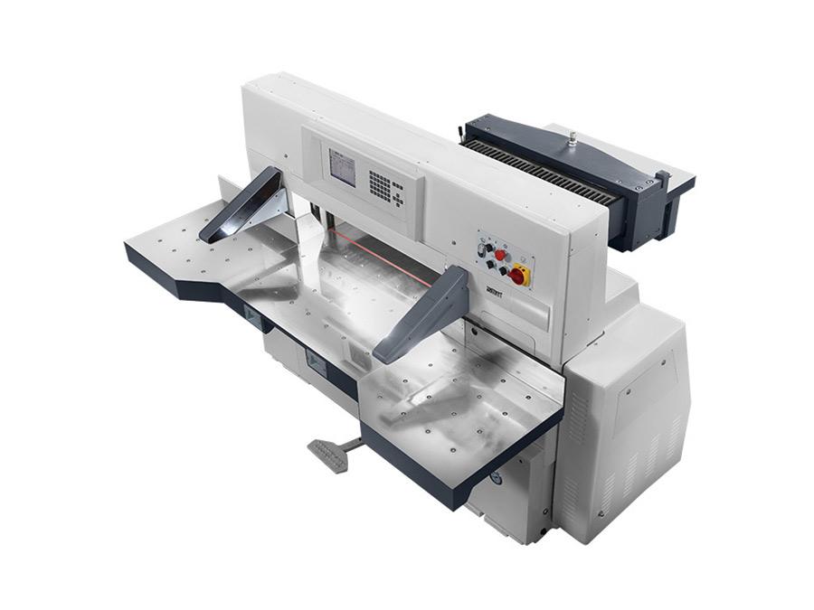 QZYK1300DL触摸屏程控切纸机