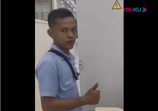 印尼客户现场操作万德利数纸机视频