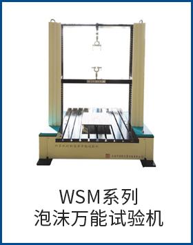 WSM系列泡沫萬能試驗機