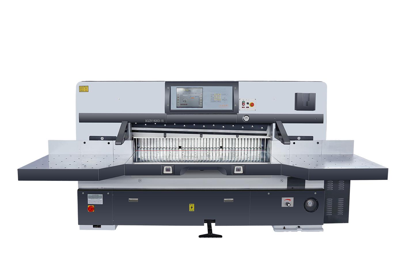 SQZK1850D-8 程控切纸机