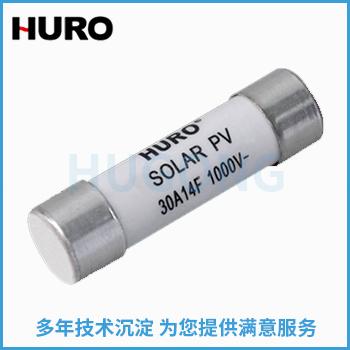 圆筒形帽 PV系列太阳能光伏系统保护用熔断体