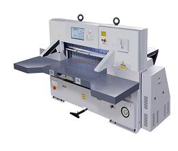 QZYK1300DH-15触摸屏程控切纸机