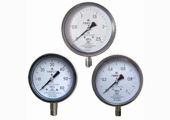 不锈钢真空压力表安装使用注意事项