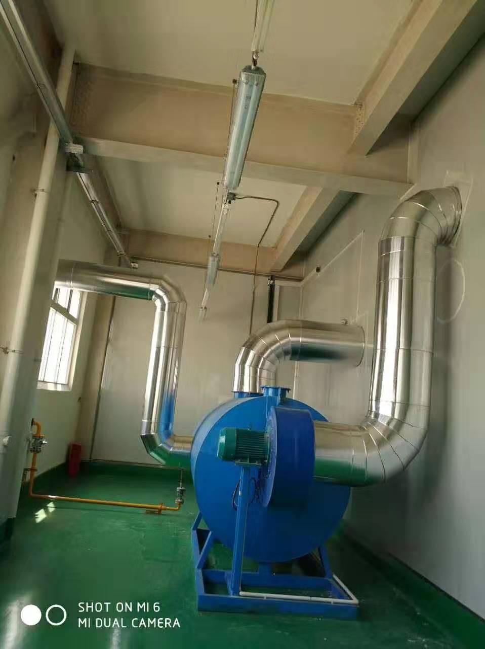 天然气烘房