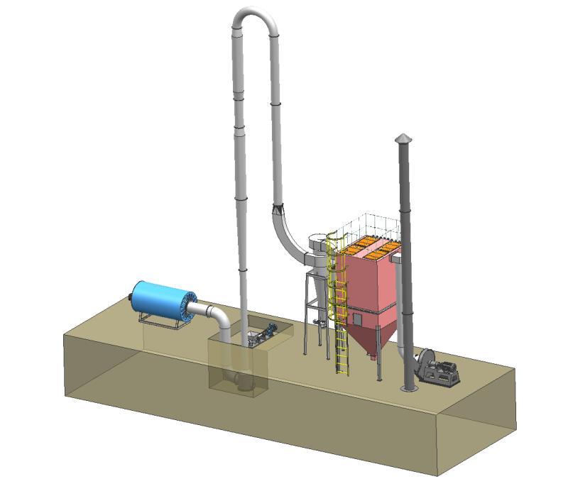 GQM脉冲气流干燥机