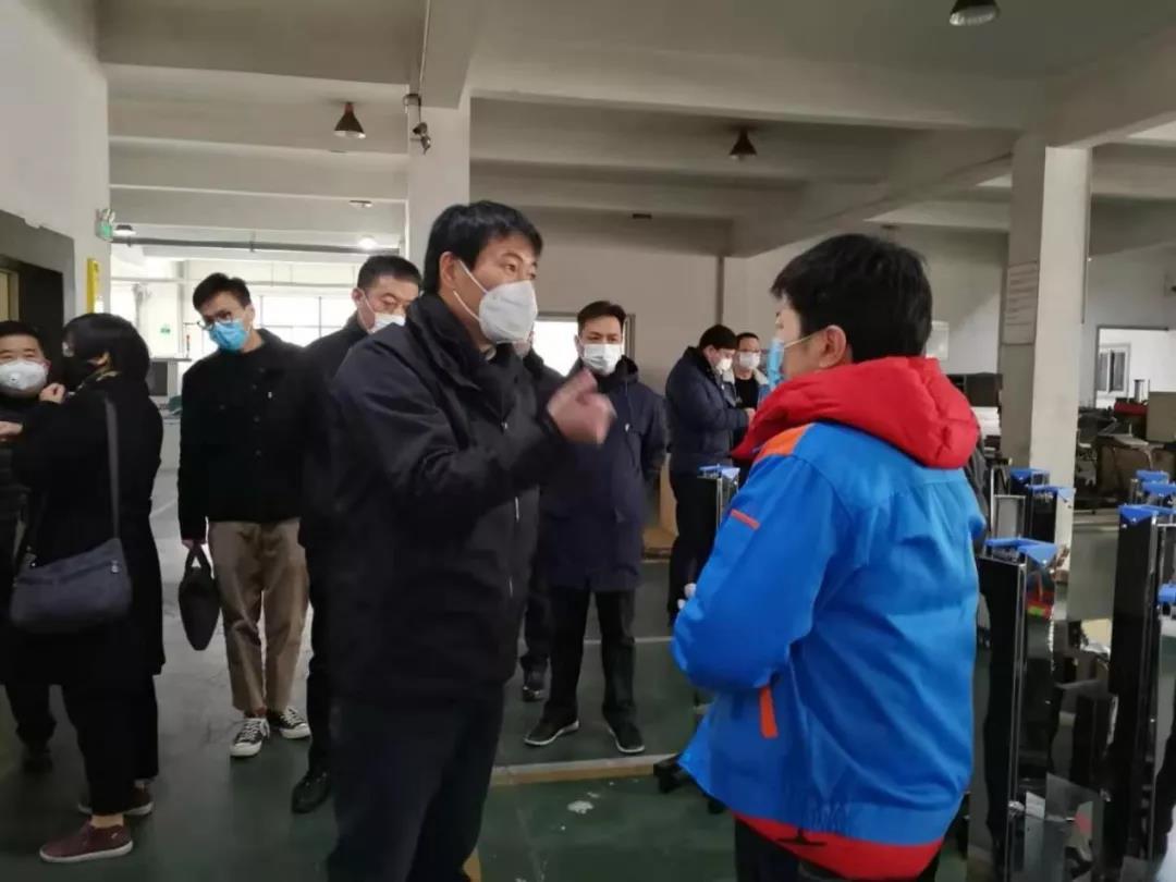 众志成城,全力以赴,抗击疫情——上海跃进医用光学器械厂提前复产