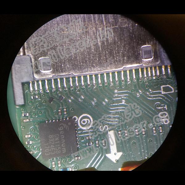 USB连接器焊接