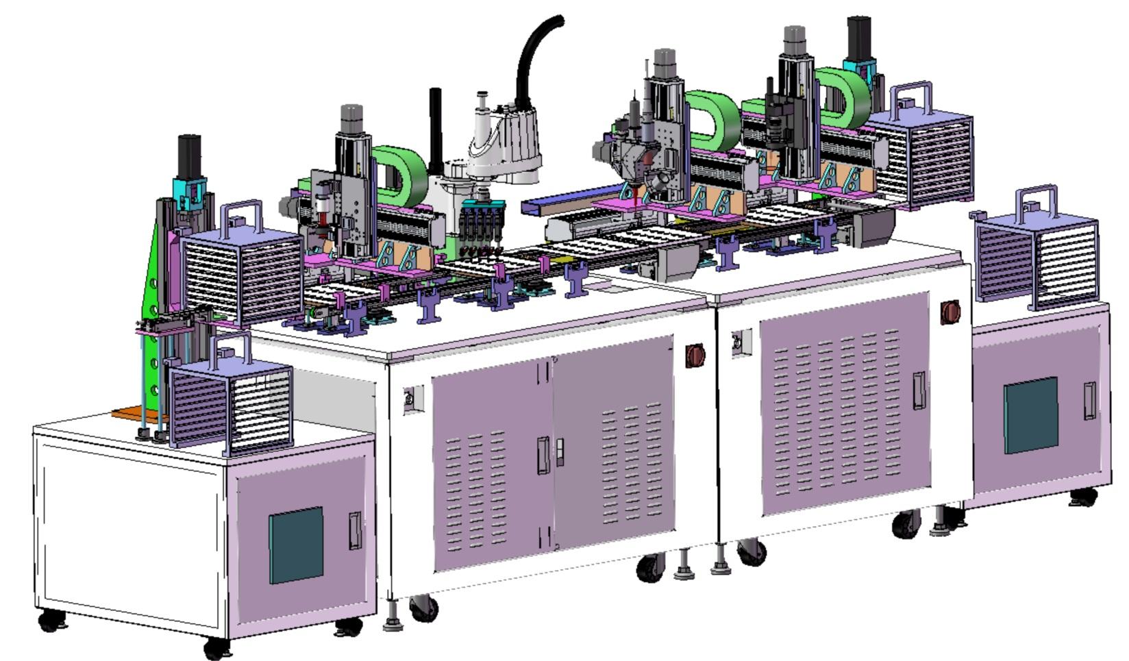 锂电池模组激光自动焊接应用方案