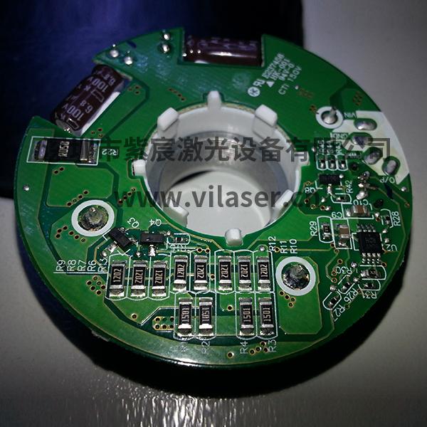 小电机定子激光焊接效果