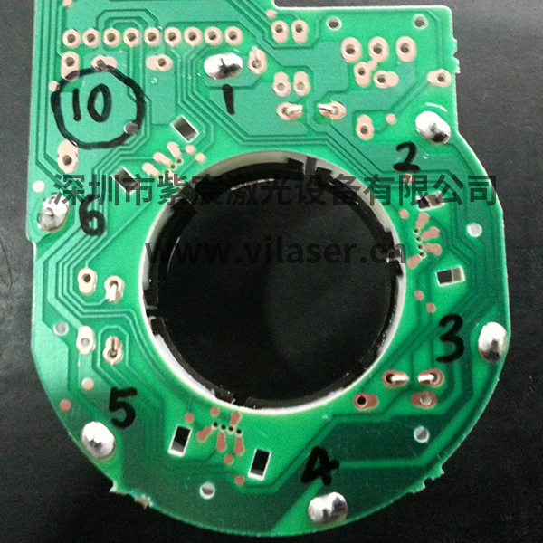 风扇电机定子焊接效果