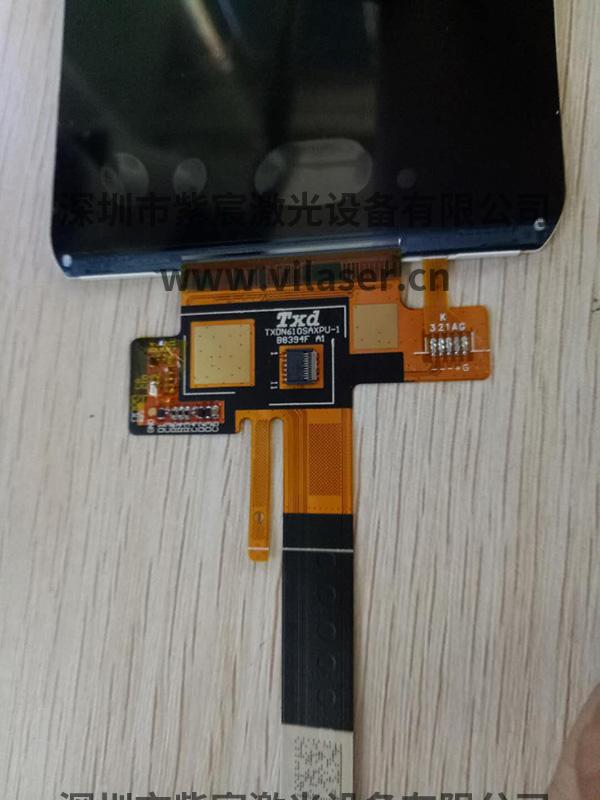 手机LCD软带排线激光焊接效果解决方案