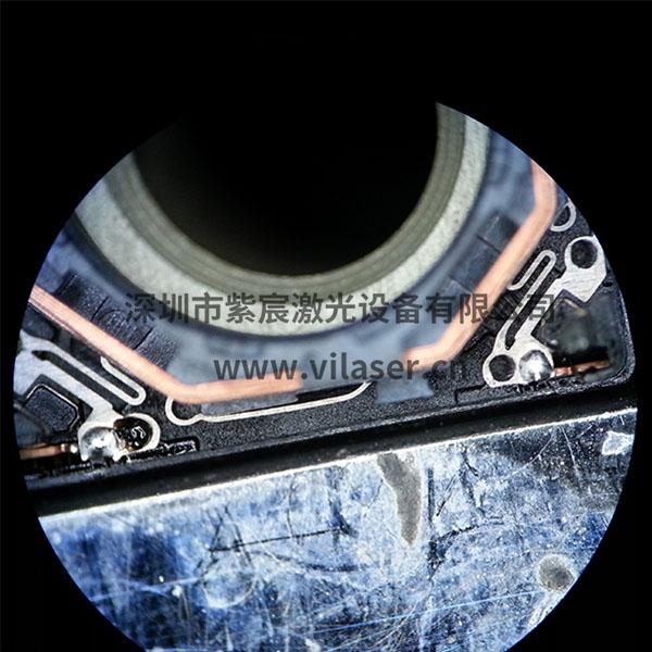 vcm线圈PIN脚焊接焊点展示