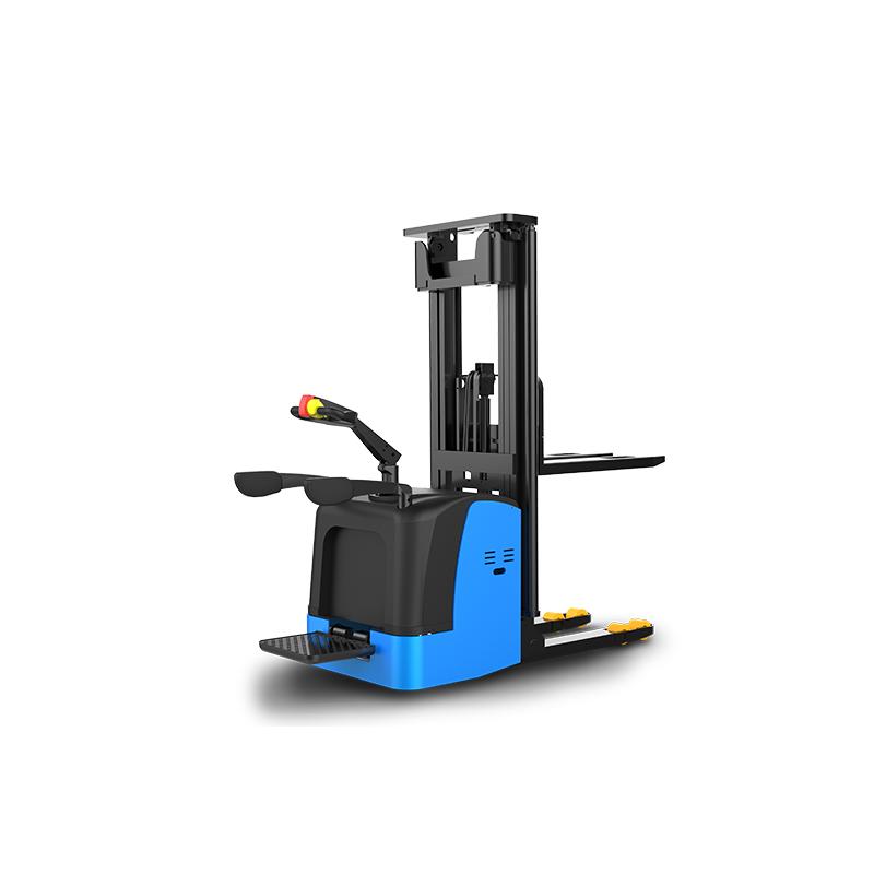 S20_2.0T步辇儿式站驾式托盘堆垛车