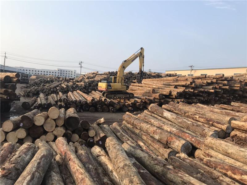 工程施工专用原木