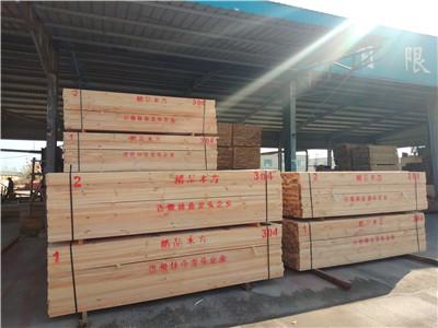 江西铁杉建筑木枋