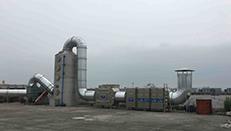 温州市峰华电器有限公司喷漆废气治理工程