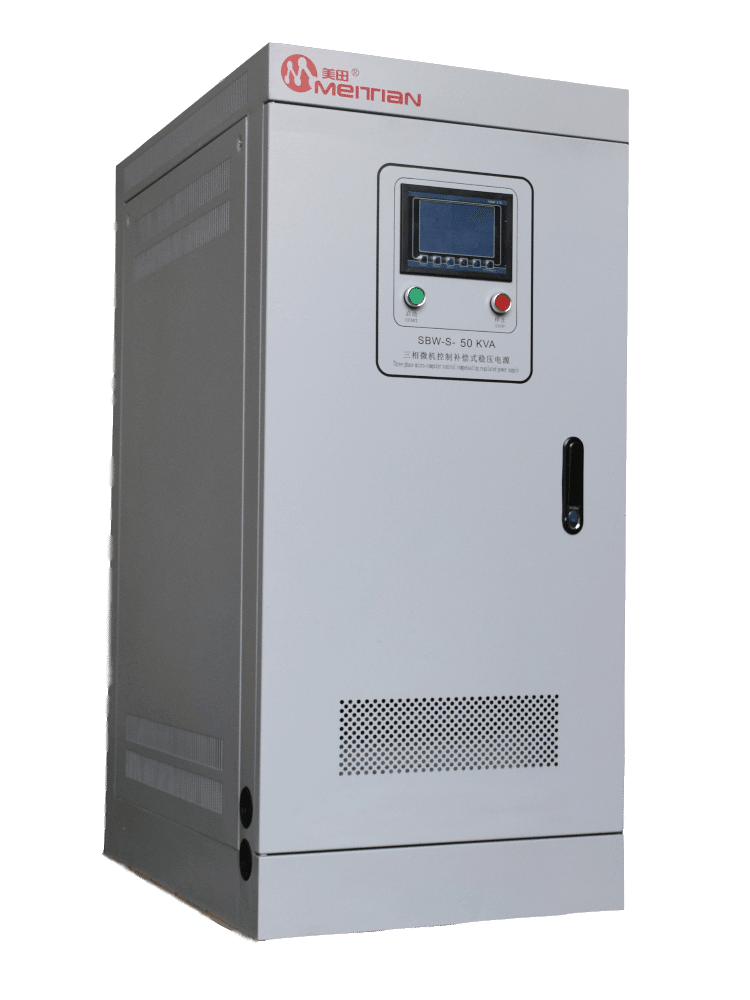 Voltage stabilizer for packaging and printing equipment