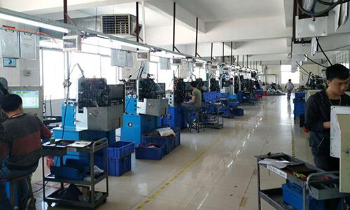 弹簧生产流程