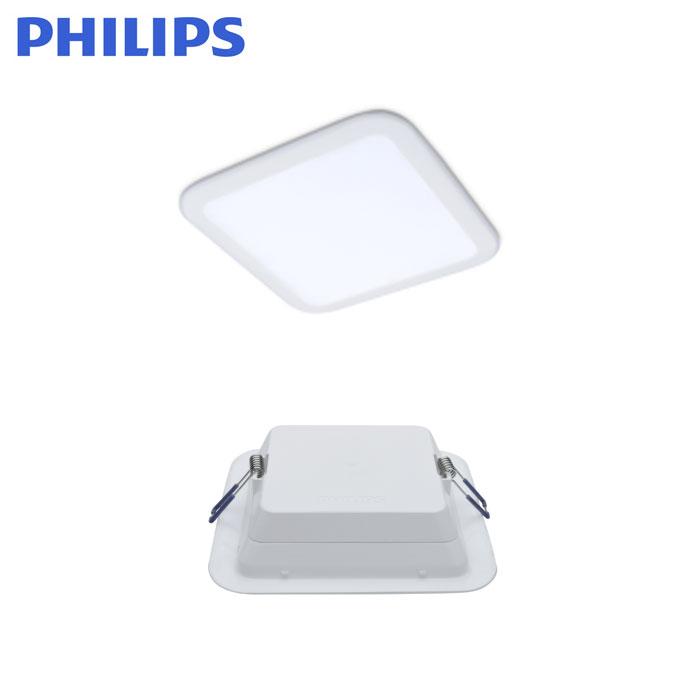 飞利浦明皓LED超薄筒灯DN003B(方形)