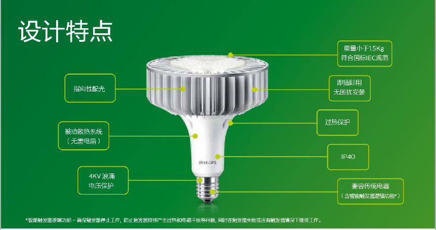 飞利浦HIL LED 高天棚灯泡