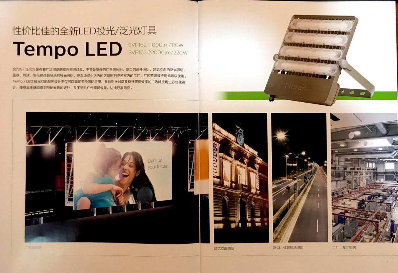 飞利浦Tempo LED投光灯162/163