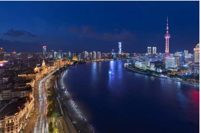 智能互联照明为上海外滩夜景增光添彩