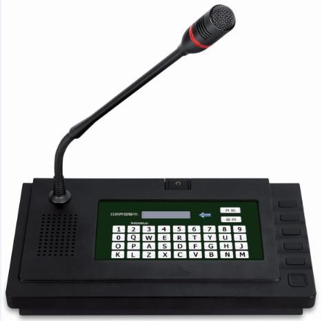 IP Network Intercom Paging Microphone
