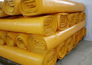600克黄色刀刮布