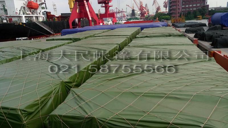 PVC军绿篷布