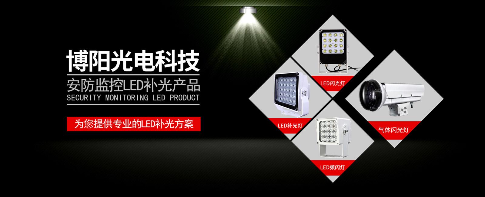 安全OR成像效果離不開紅外白光一體爆閃燈與暖光補光燈