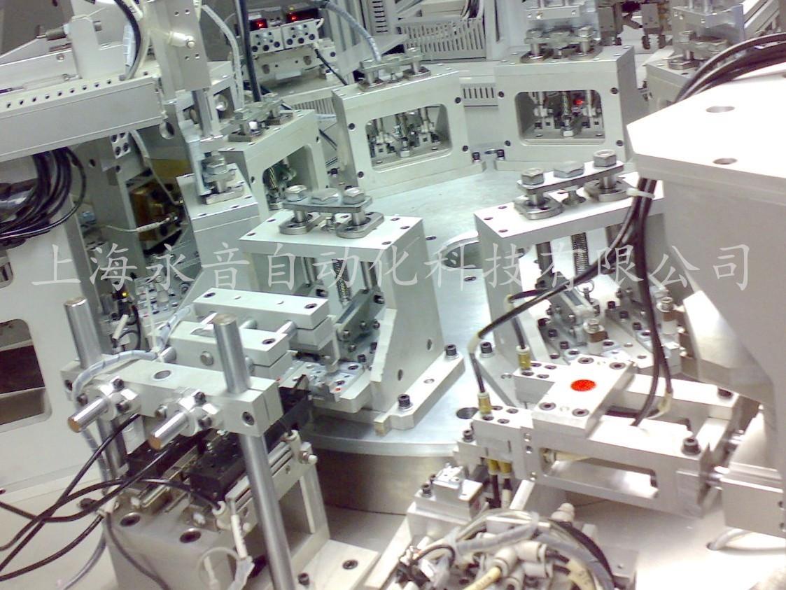 轉盤型自動熱鉚檢測設備